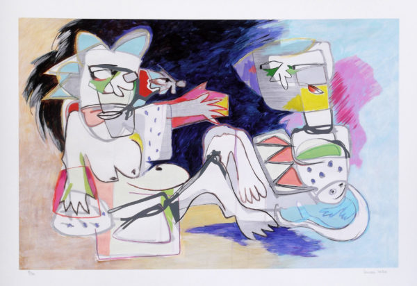 Image showing a high quality giclee print for explorative art
